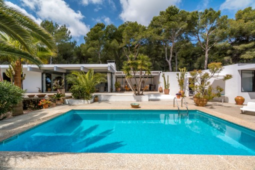 Beautiful and private villa in an exclusive residential area in Cala Ratjada