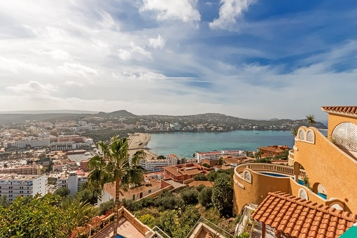 Practical apartment with wiews over the bay of Santa Ponsa