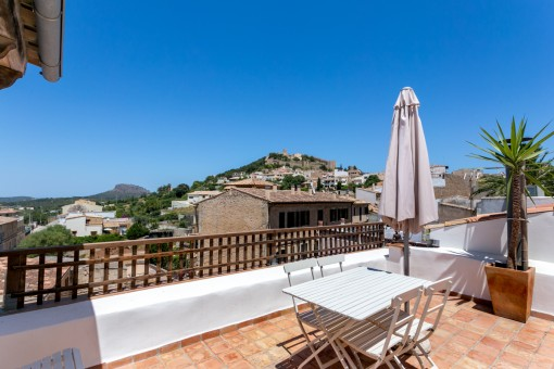 Well-designed town house with renting licence and views of the castle of Capdepera