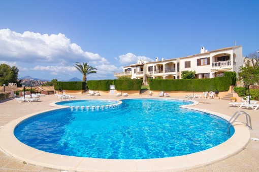 Romantic apartment with sweeping views over Santa Ponsa