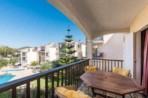 Centrally-situated holiday apartment in Santa Ponsa