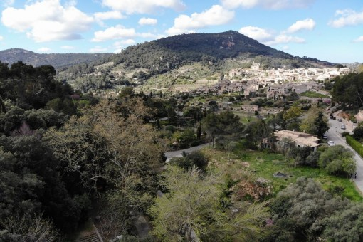 Wonderful building plot close to Valldemossa