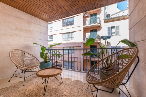 Exceptional, stylishly renovated dream of an apartment apartment in the centre of Palma