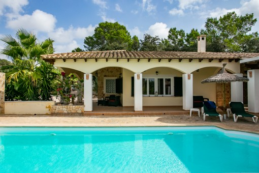 Quietly-situated finca in the heart of Mallorca in Montuiri
