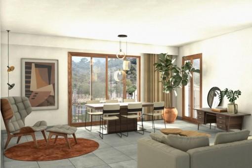 Appartement à Caimari