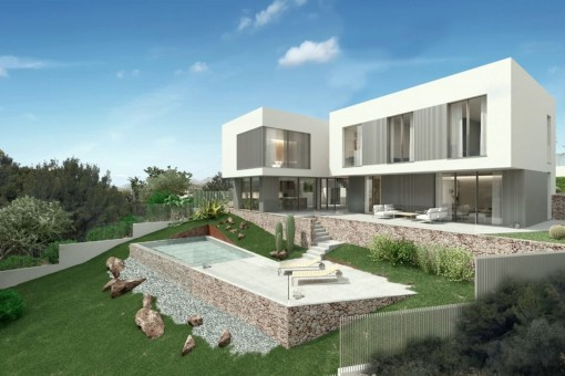Modern, newly-built villa in a prime location in Santa Ponsa