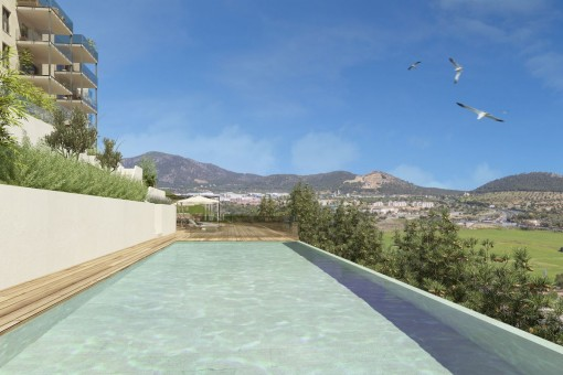 High quality apartment in modern new building complex in Santa Ponsa