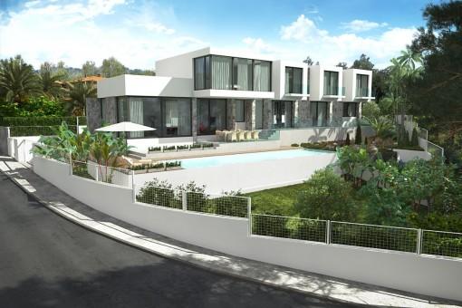Villa à Cala Vinyas