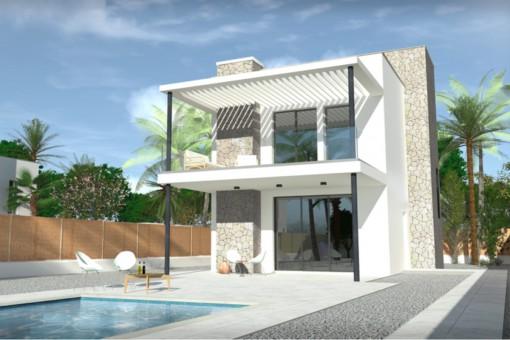 Fantastic newly-built villa promotion in Vallgonera