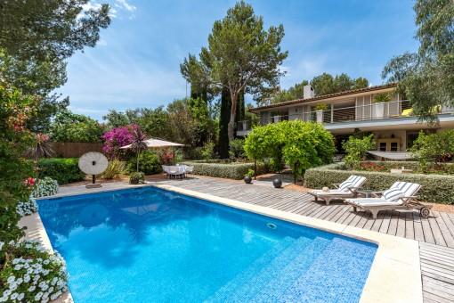 Wonderful villa with great privacy and idyllic...