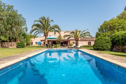 Mediterranean country house with luxury...